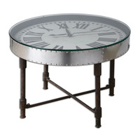Cassem Aluminum Clock Table