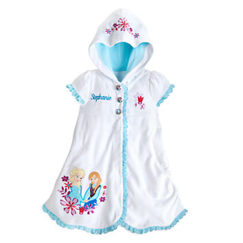 Anna and Elsa Cover-Up for Girls – Personalizable – Frozen