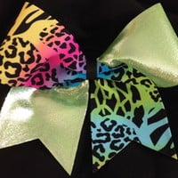 Cheer Bows Cheerleading bows bow, CHEER ALL STAR BOWS Fun Prints