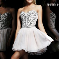 Mini Sweetheart Dress by Sherri Hill