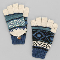 Fair Isle Convertible Glove - Urban Outfitters