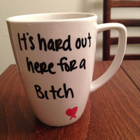 Hard Out Here lyric mug