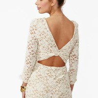 Lace Cutout Romper in Clothes Bottoms Rompers + Jumpsuits at Nasty Gal