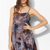 Ecote Laced-Side Strappy Tank Dress - Urban Outfitters