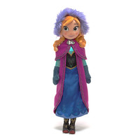 Disney Anna From Frozen Soft Toy Doll | Disney Store