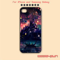 Disney,Tangled,Castle,iPhone 5 case, iPhone 5C Case, iPhone 5S , Phone case, iPhone 4S , Case,Samsung Galaxy S3, Samsung Galaxy S4