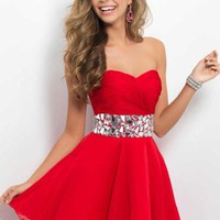 Blush 9683 at Prom Dress Shop