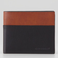 Givenchy Colorblock Bi-Fold Wallet, Black/Brown