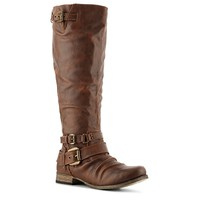 Carlos by Carlos Santana Hanna Wide Calf Riding Boot
