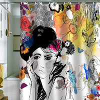 DENY Designs Home Accessories | Holly Sharpe Dreamer Shower Curtain