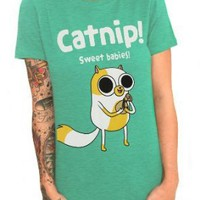 Adventure Time Catnip Girls T-Shirt Plus Size 3XL