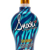 2014 SNOOKI SKINNY DARK BLACK BRONZER FIRMING INDOOR TANNING BED LOTION SUPRE