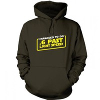 Something Geeky PP - .6 Past Light Speed Hoody - Inspired By Star Wars