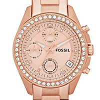 Fossil Crystal Topring Watch | Nordstrom