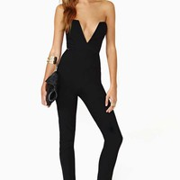 Nasty Gal Midnight Run Jumpsuit