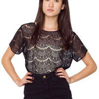 El Salvador Lace Tee | Shop American Apparel