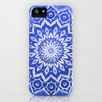 okshirahm, blue crystal iPhone & iPod Case by Peter Patrick Barreda