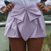 BOW SHORTS , DRESSES, TOPS, BOTTOMS, JACKETS & JUMPERS, ACCESSORIES, 50% OFF SALE, PRE ORDER, NEW ARRIVALS, PLAYSUIT, COLOUR, GIFT VOUCHER,,SHORTS,Purple Australia, Queensland, Brisbane