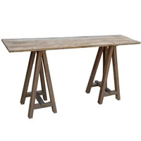 A-frame Console Table