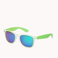 F2947 Neon Pop Wayfarer Sunglasses