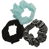 Tribal Print Scrunchy Pack | Wet Seal