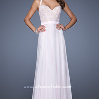 Full Length Sweetheart Prom Dress