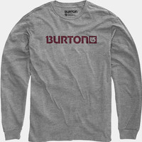 Logo Horizontal Long Sleeve T Shirt | Burton Snowboards