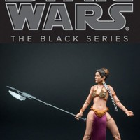 STAR WARS The Black Series PRINCESS slave LEIA 6 Inch Action Figure Mint Sealed