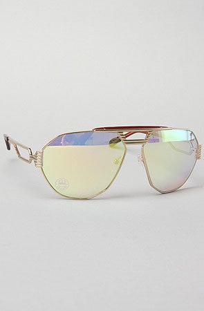 - The Aviator Sunglasses in Gold by Claw Money