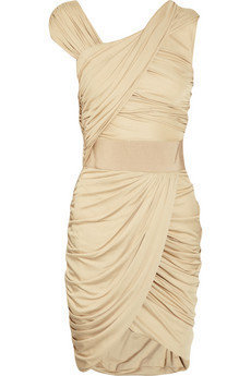 Giambattista Valli|Draped jersey dress|NET-A-PORTER.COM