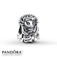 Pandora Charm Miss Hedgehog Sterling Silver