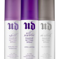 Urban Decay Setting Sprays Collection
