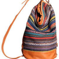 GYPSY WARRIOR - Southwest Bucket Bag Backpack