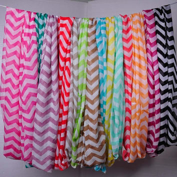 Chevron Infinity Fashion Scarf