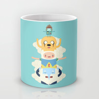 Adventure Totem Mug by Daniel Mackey