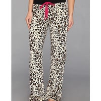 P.J. Salvage Pop of Pink Leopard Thermal Pajama Pant