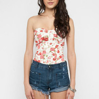 Floretta Bustier in Rose :: tobi