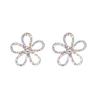 Daisy Outline Stud Earrings