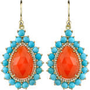 Irene Neuwirth Carnelian Teardrop Earrings at Barneys New York