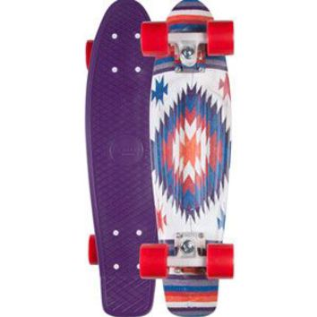 Penny Aztec Original Skateboard Purple Combo One Size For Men 23564376601