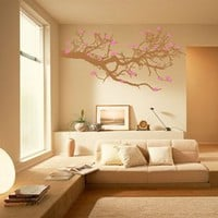Wall Decal Branches and Blossoms- WALLTAT.com Art Without Boundaries