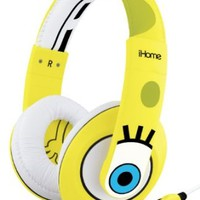 EKids SB-M40 iHome Spongebob Squarepants Over the Ear Headphones (SB-M40)