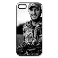 Simple Joy Phone Case, Luke Bryan Hard Plastic Back Cover Case for iphone 5, 5S