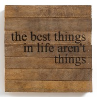 'The Best Things in Life' Wall Art | Nordstrom