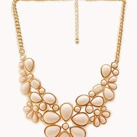 Bold Bauble Bib Necklace