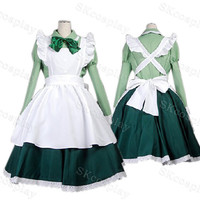 Custome Made APH Axis Powers Hetalia Hungary Maid Cosplay Costume, APH, Maid, Made to order