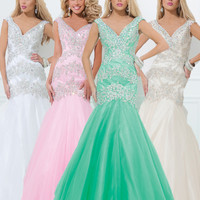 Tony Bowls Mermaid Dress 114530 - More Colors Available!