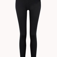 Layered Skinny Workout Leggings