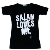 Satan Loves Me Tee - Skinny Bitch Apparel