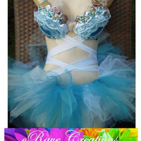 Mermaid Bra with OPTIONAL Torso Wraps